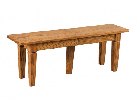 Solid Top and Extendable Bench Image