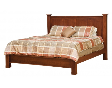 Treasure King Bed w/ Low Footboard Image