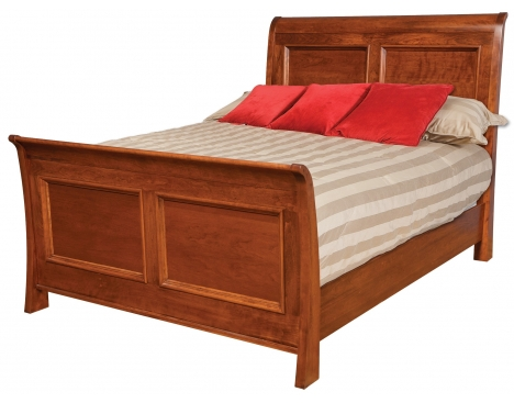 Clic Queen Sleigh Bed W Standard Footboard Image