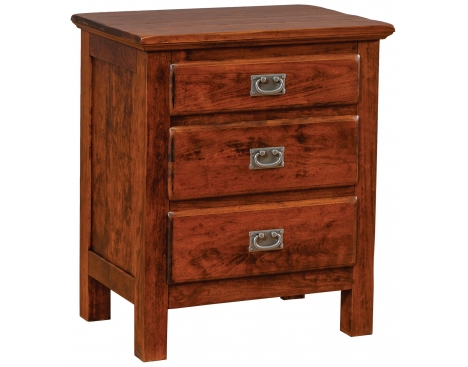 Lewiston 3-Drawer Nightstand Image