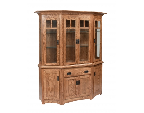 Canted Mission Hutch & Buffet Image