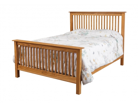 Simplicity Queen Bed w/ Std. Height Footboard Image