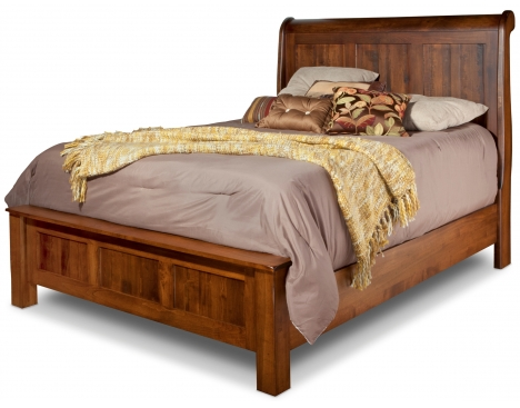 Lewiston Queen Sleigh Bed w/Low Footboard Image