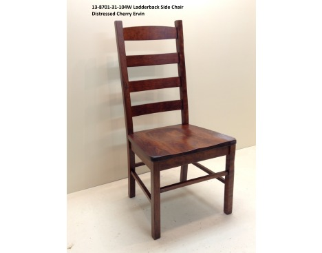 Ladder Back Side Chair 13-8701-31-104W Image