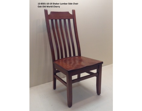 Shaker Lumbar Side Chair 13-8501-10-19 Image