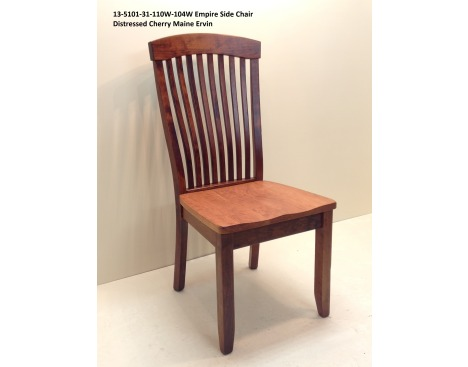 Empire Side Chair Oak 13-5101-31-110W-104W Image