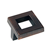 Brushed Bronze Square