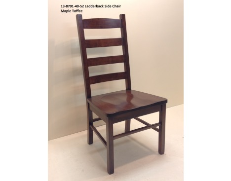 Ladder Back Side Chair 13-8701-40-52 Image