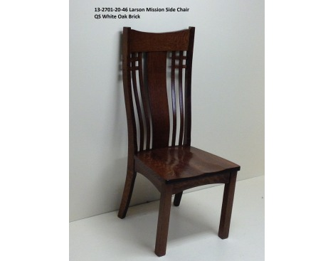 Larson Mission Side Chair 13-2701-20-46 Image