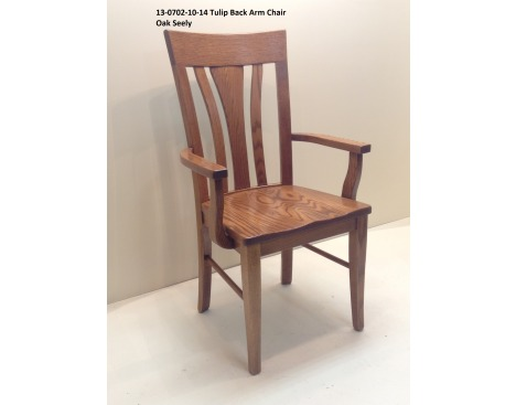 Tulip Back Arm Chair 13-0702-10-14 Image