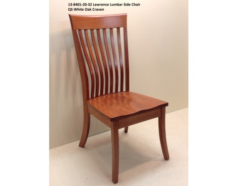 Lawrence Lumbar Side Chair 13-8401-20-32 Image