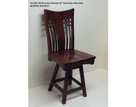 Larson Mission Side Chair 13-2707-20-46 Image