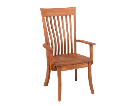 Lawrence Lumbar Arm Chair Image