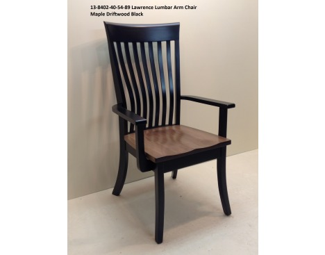 Lawrence Lumbar Arm Chair 13-8402-40-54-89 Image