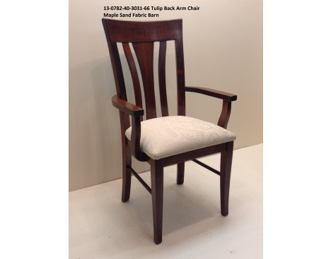 Tulip Back Arm Chair 13-0702-40-3031-66 Image