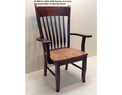 Buckeye Arm Chair 13-3602-41-106W-109W Image