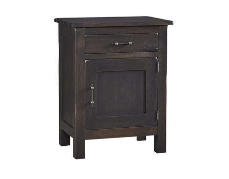Wildwood Collection 1 Drawer 1 Door Nightstand
