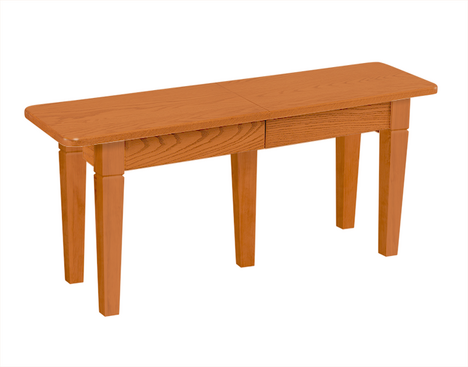 Solid Top and Extendable Bench